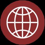Voice Data Business Communications Globe Icon