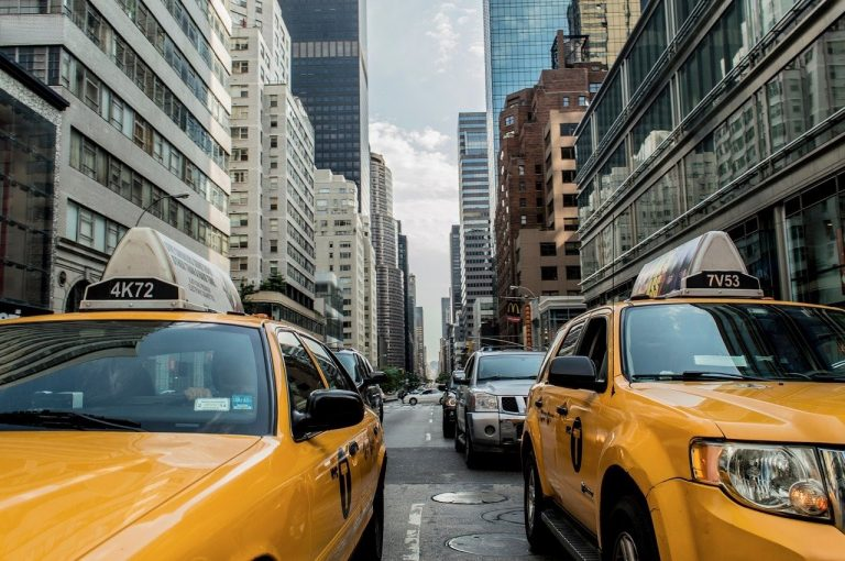cabs working for transportation companies